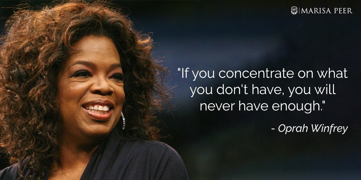 Women's History Month - Oprah Quote