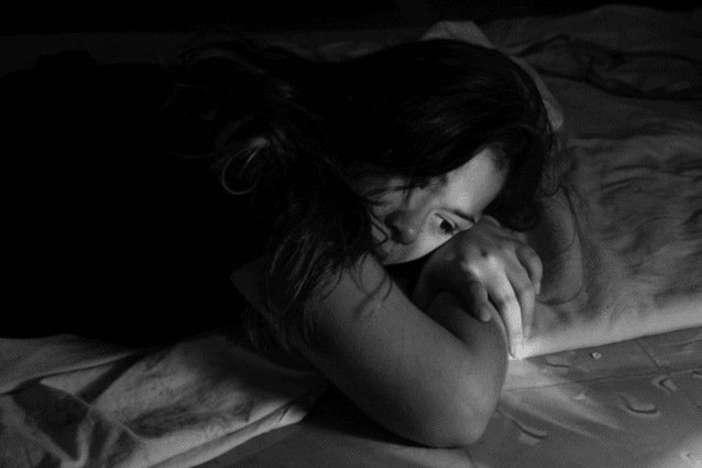 Who is more likely to cry during sleep?