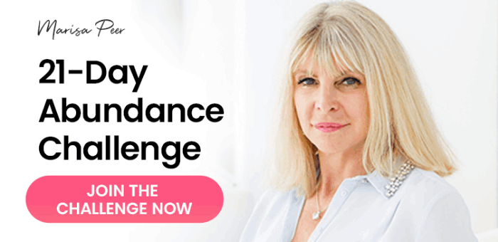 learn how to stop spending money with the abundance challenge